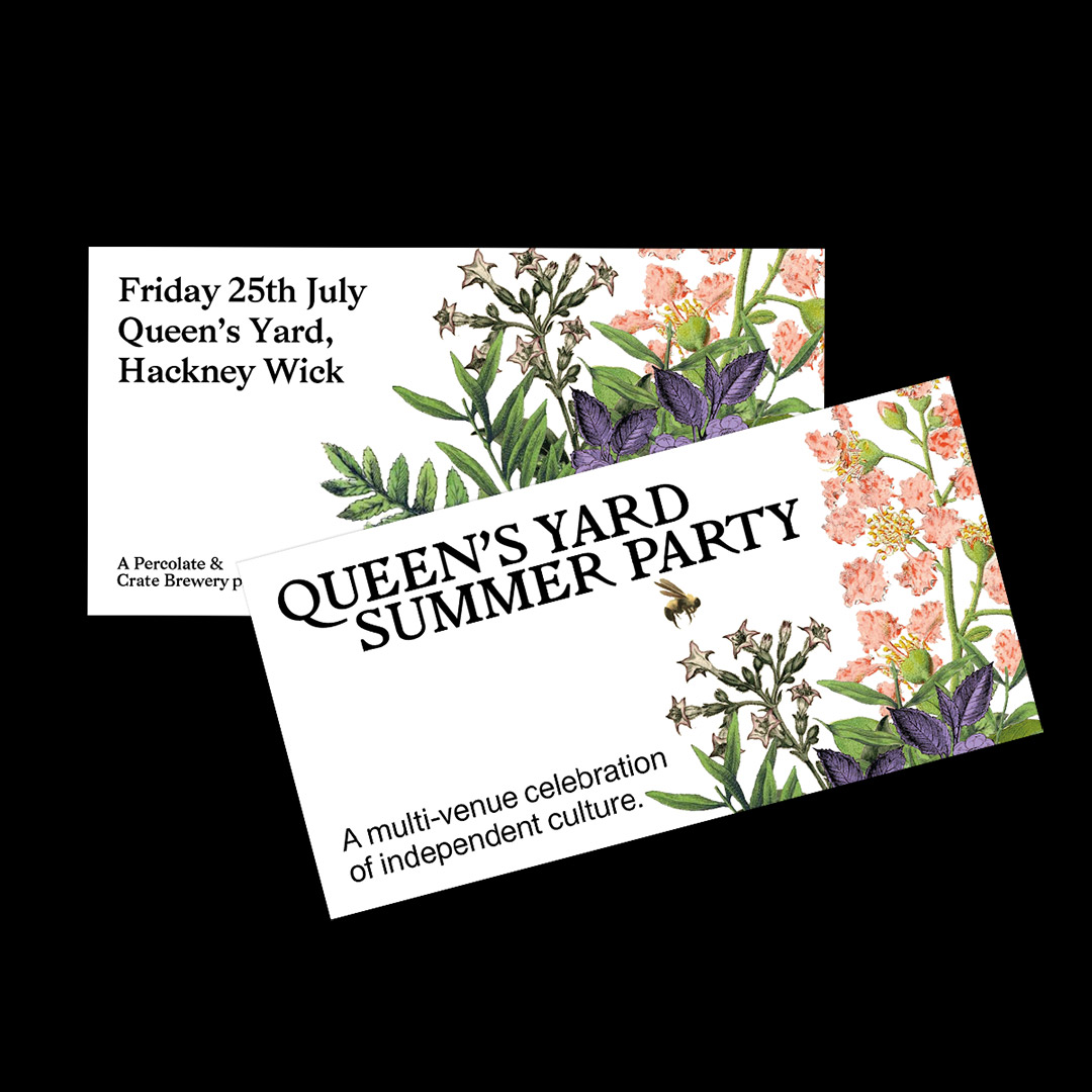 Percolate – Queen's Yard Summer Party